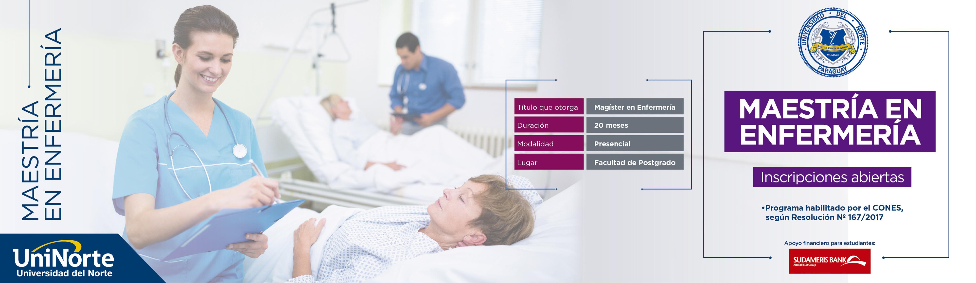 maestría en enfermería